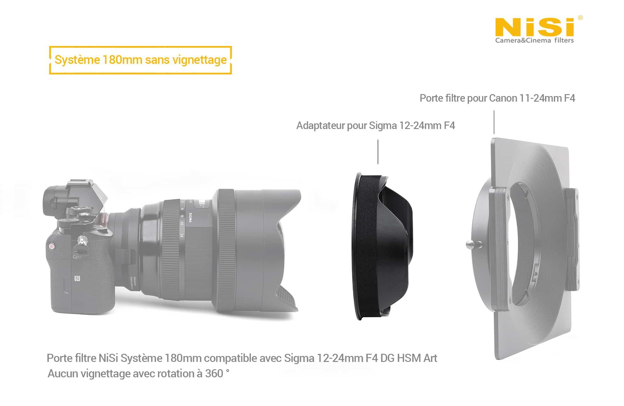 Adaptateur Sigma 12-24mm Nisi
