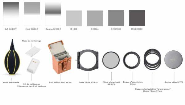 Kit Professionnel Nisi (description FR)