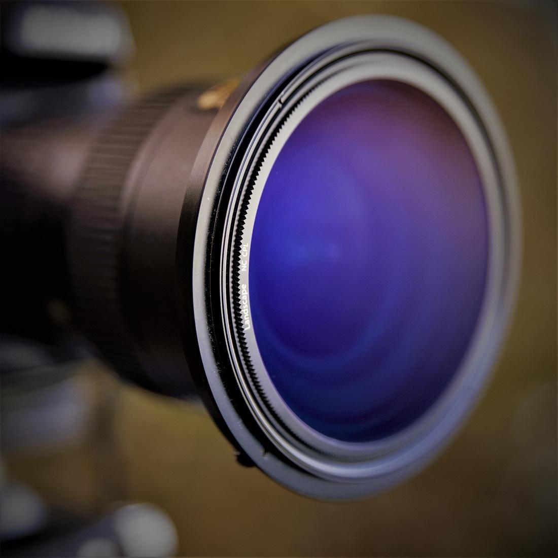 Test filtre polarisant NISI CPL NC Landscape