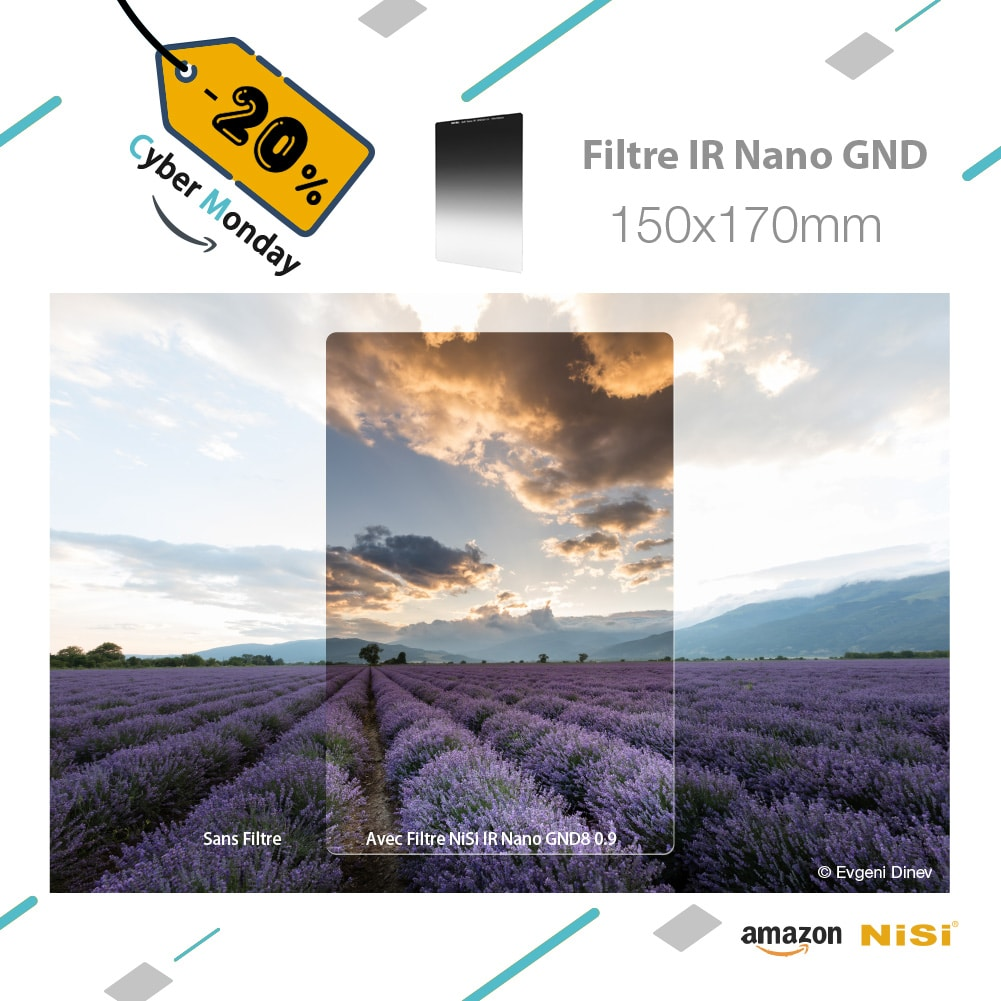 Cyber Monday Filtre GND 150X170mm