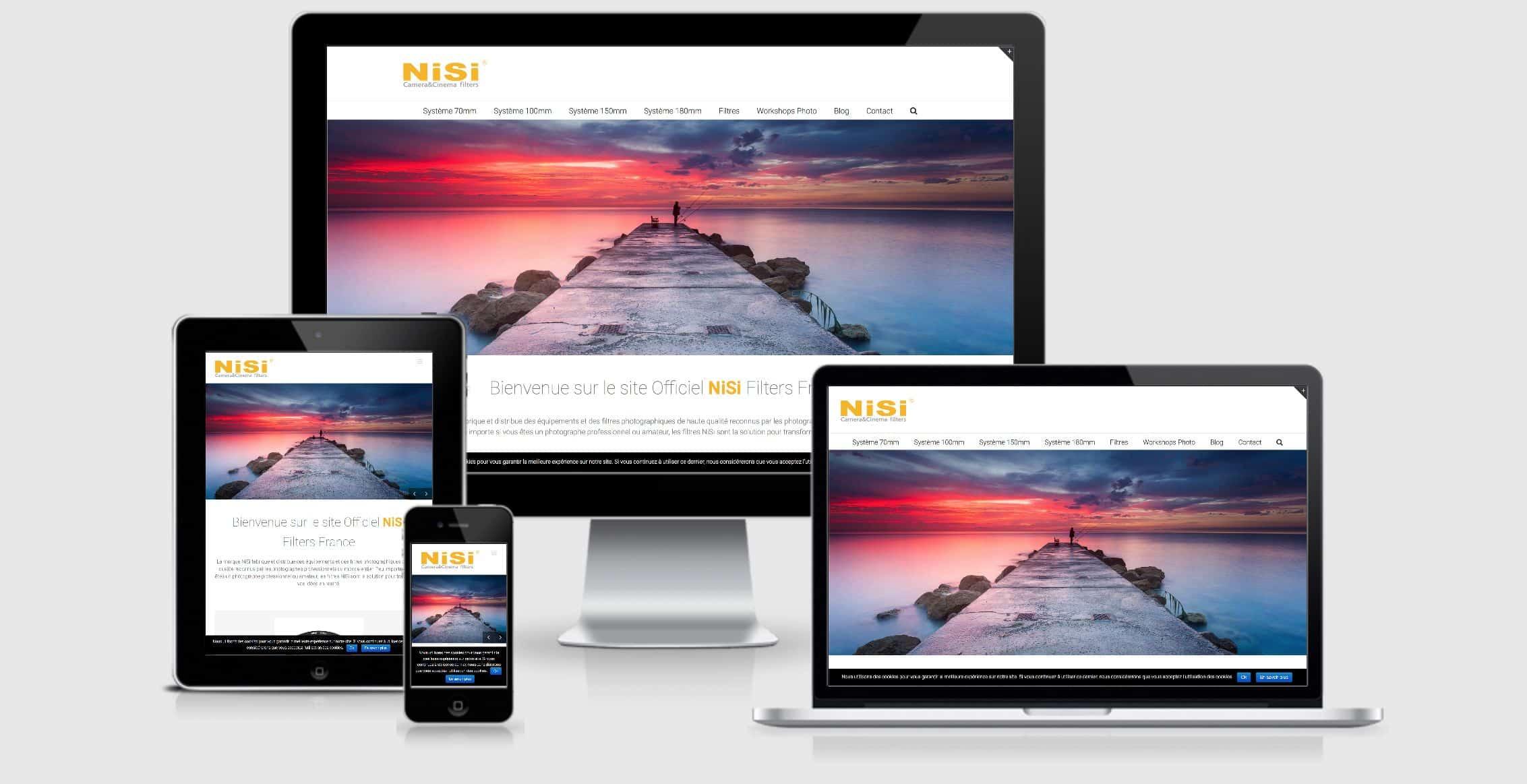 NiSi Filters France Website